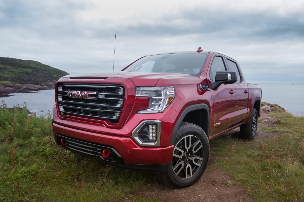 Our 2019 Gmc Sierra 1500 First Drive Tops What S New On Pickuptrucks