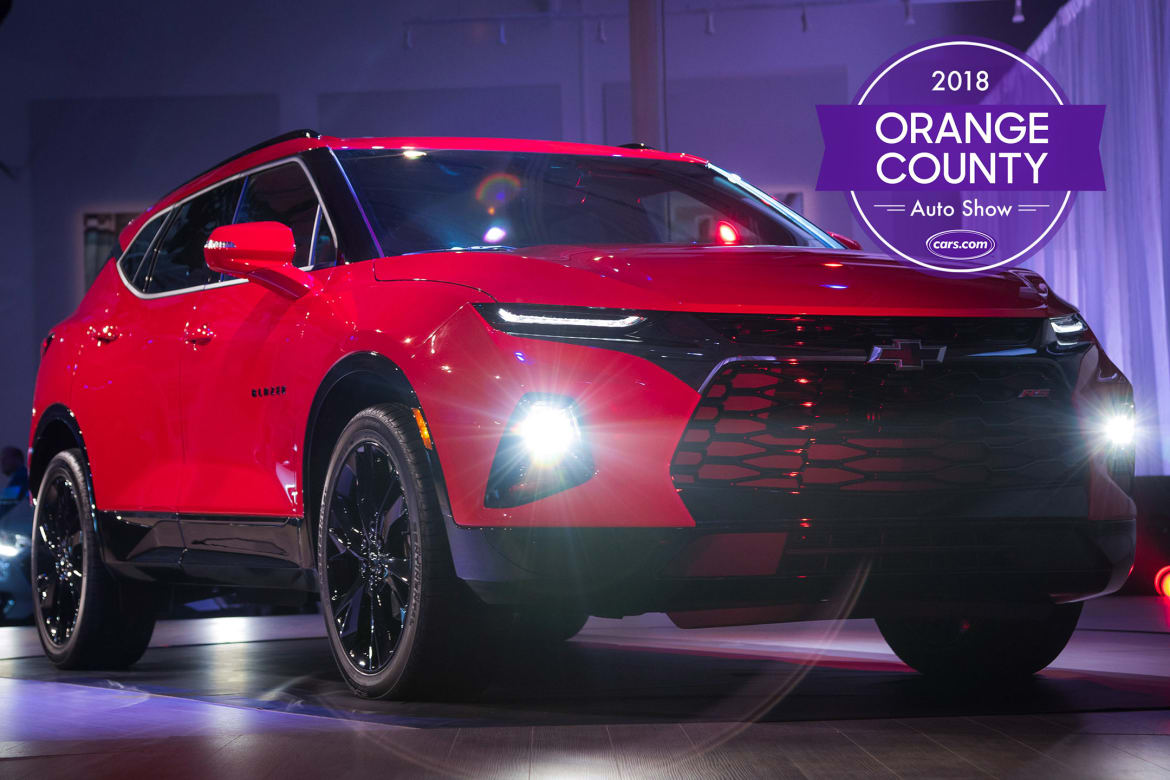 Orange County Auto Show >> 2018 Orange County Auto Show Chevy Blazer Tops 5 Things You Can T