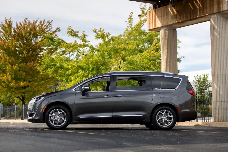 Chrysler Pacifica Test