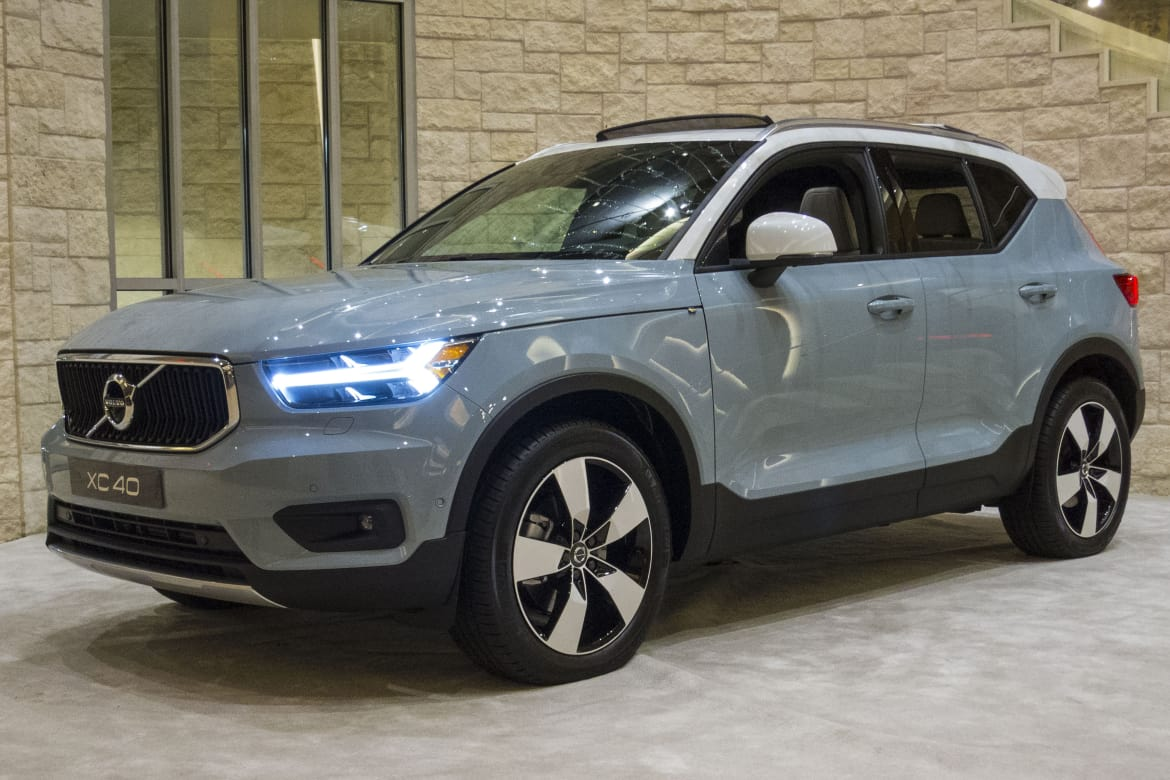 2019 Volvo XC40 Gas Mileage Bests Less Powerful Rivals ...
