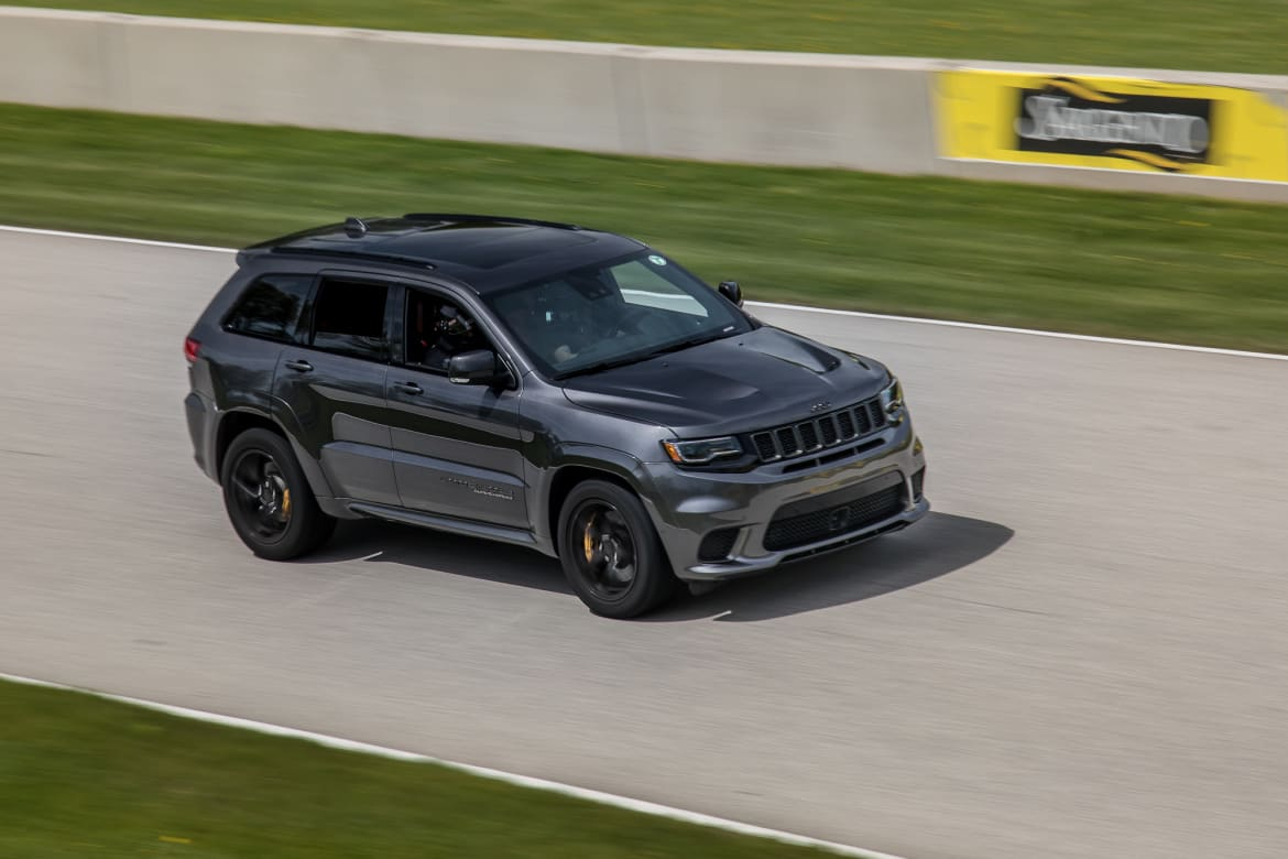 Even At 90k For Grand Cherokee Srt Trackhawk This Jeep S