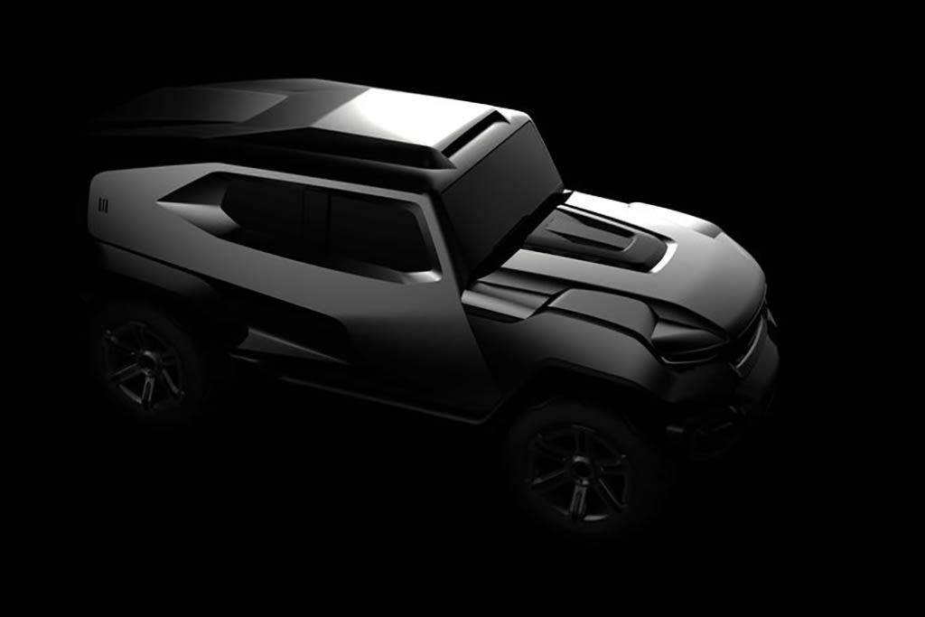 Tank's a Lot! Rezvani Motors Teases Armored SUV