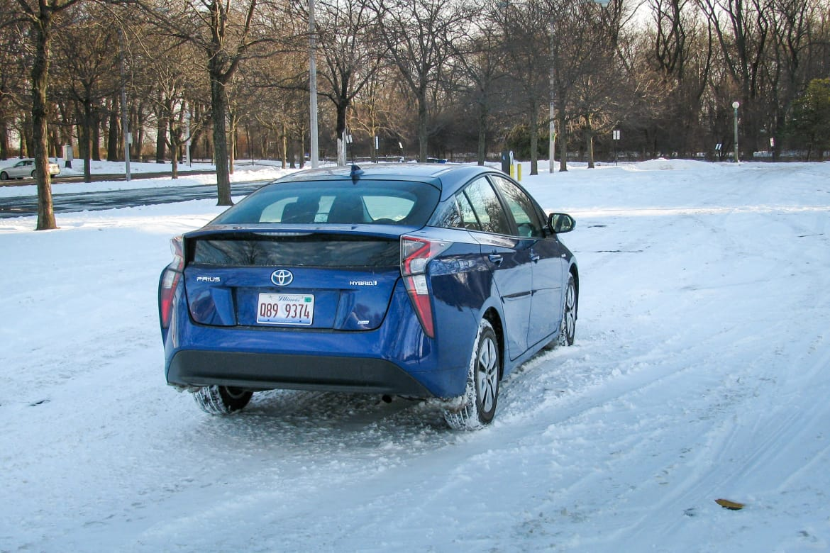 How Does the Toyota Prius Handle Winter? | News | Cars com