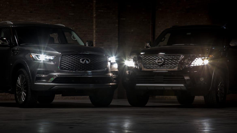 2018 Infiniti QX80: News, Design, Features, Price >> 2018 Infiniti Qx80 Vs 2018 Nissan Armada Is The Luxury