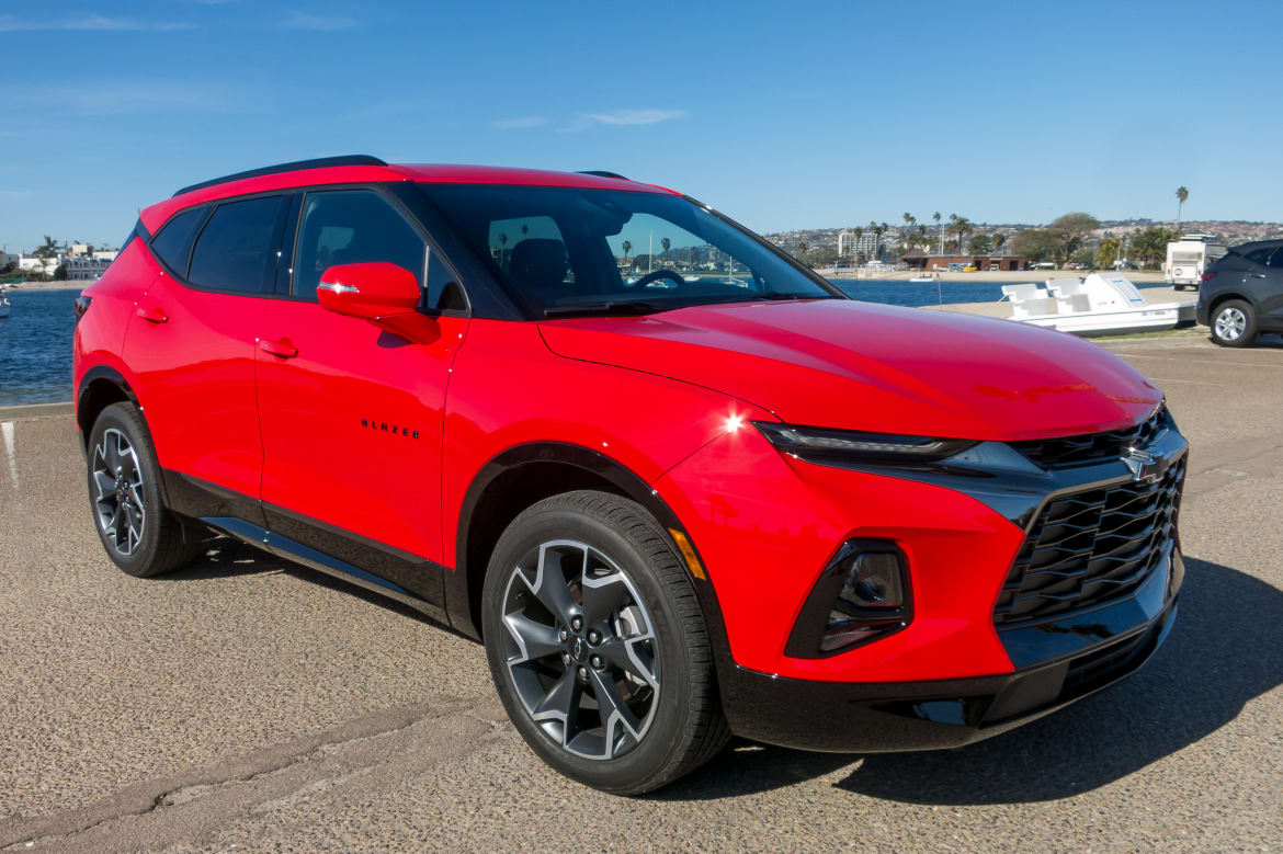 2019 Chevrolet Blazer Review The On Road Warrior News Cars Com