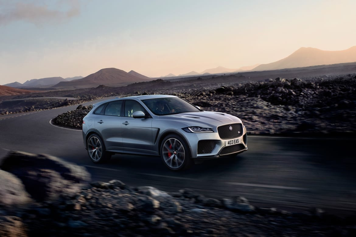 2019 Jaguar F Pace What S Changed News Cars Com