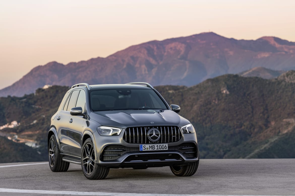 Mercedes Benz Boosts Mid Size Suv Lineup With Amg Gle 53