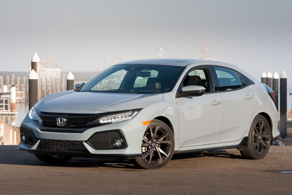 Which To Buy 2017 Honda Civic Sedan Or Hatchback News Cars Com