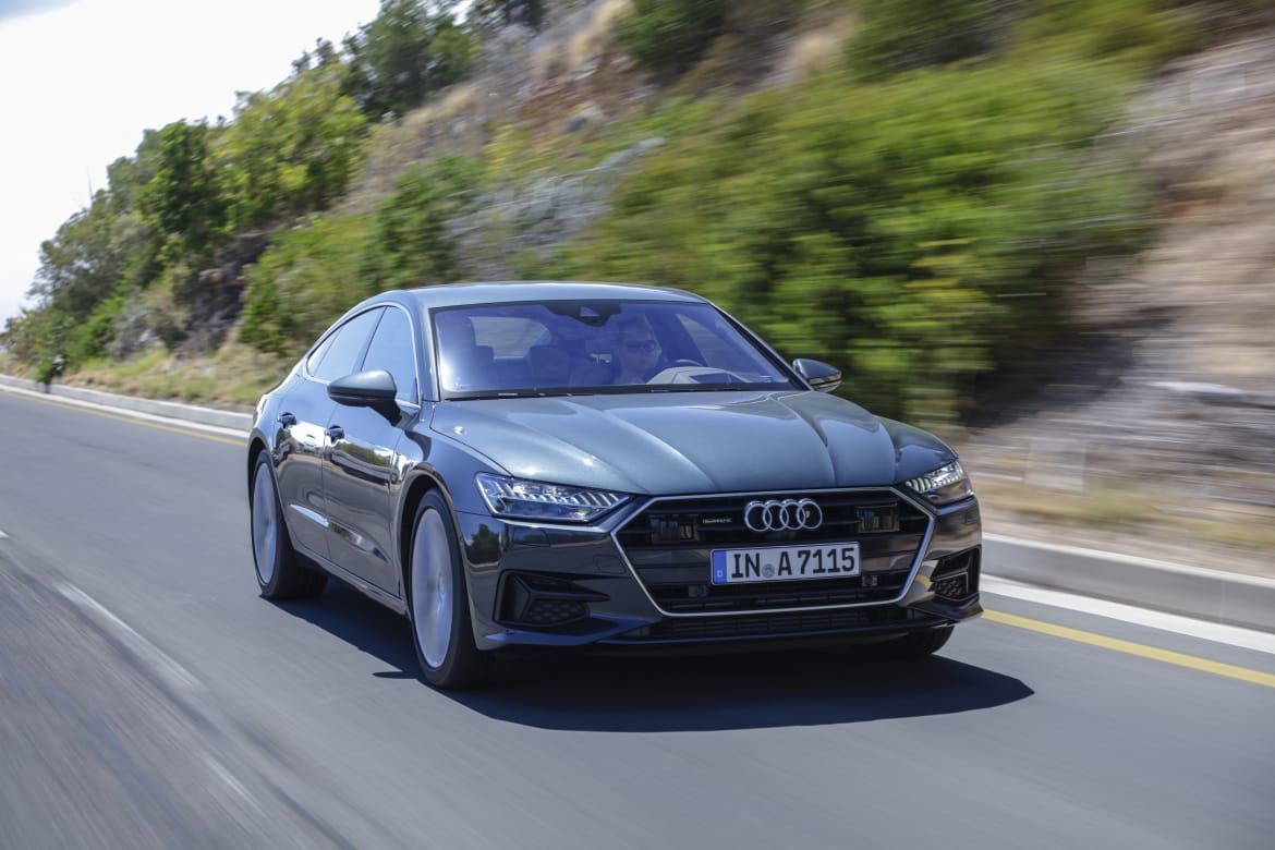 Redesigned 2019 Audi A7 Gets Redesigned Price Premium Trim Returns