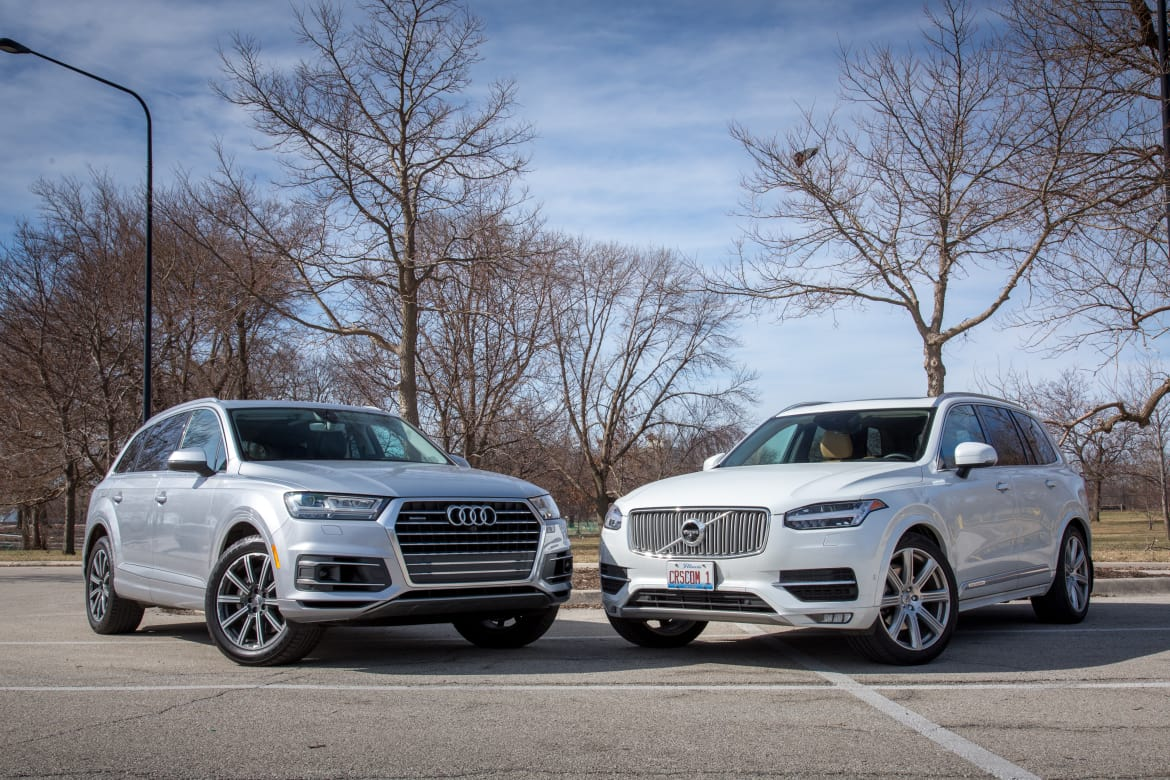 Volvo XC90 Versus Audi Q7: Luxury SUVs Go Head-to-Head | News | Cars com