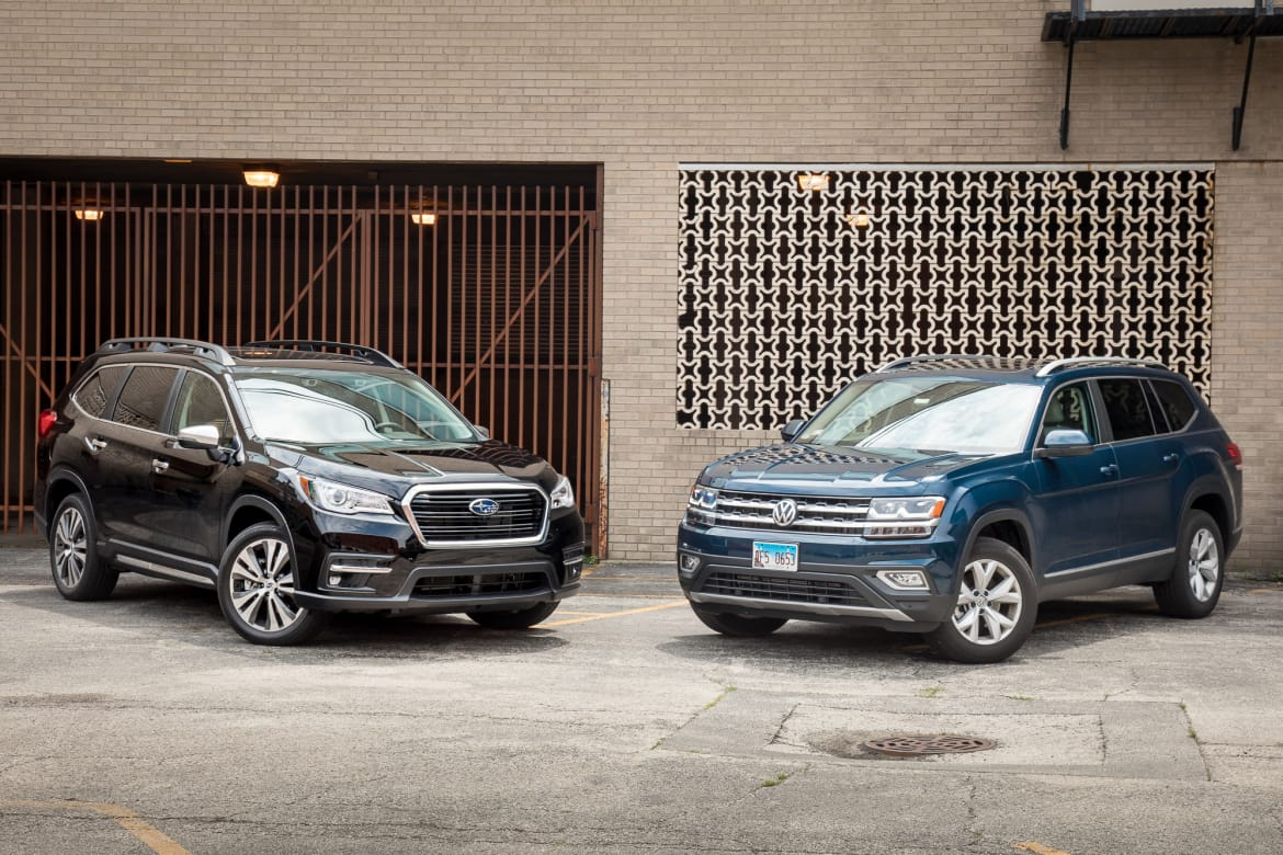 Sensational Subaru Ascent Vs Volkswagen Atlas The Family Suv Feud Pdpeps Interior Chair Design Pdpepsorg