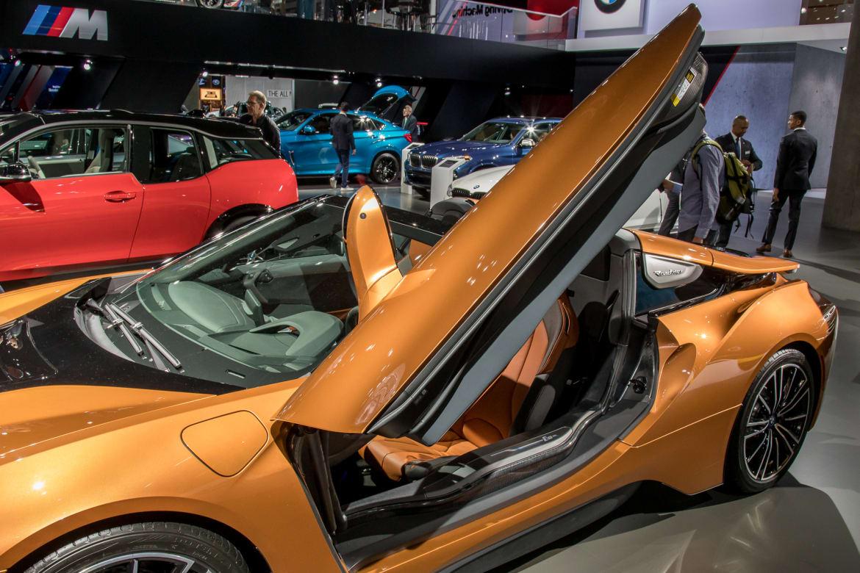 2019 Bmw I8 Roadster Weird Wild And Windy News Cars Com