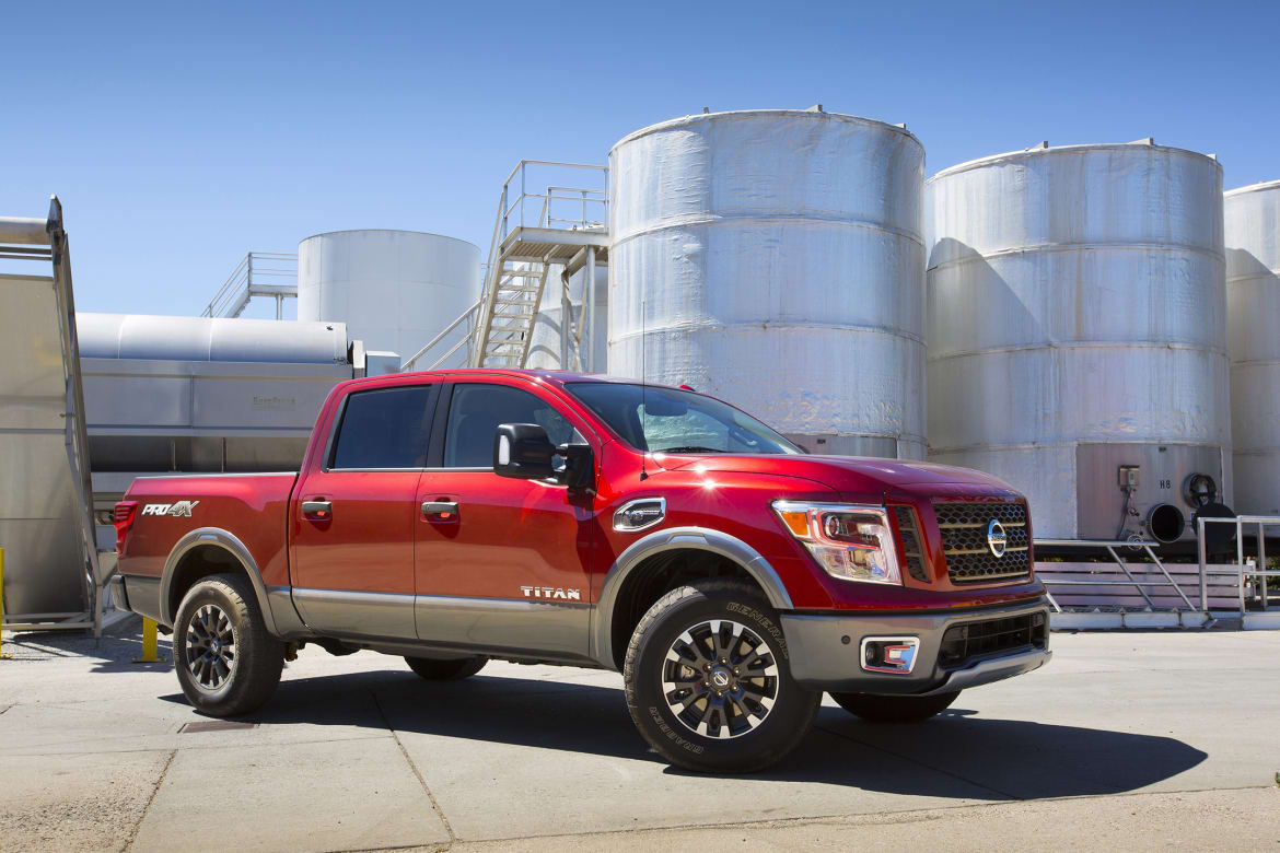 2017 Mid-Size, Full-Size Pickup Fuel-Tank Capacities