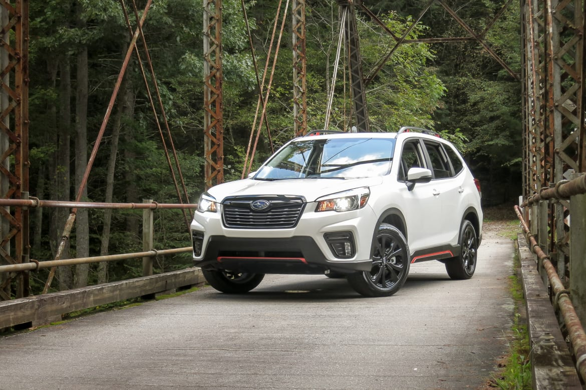 2019 Subaru Forester: All-New and Better, Just Not Shouting
