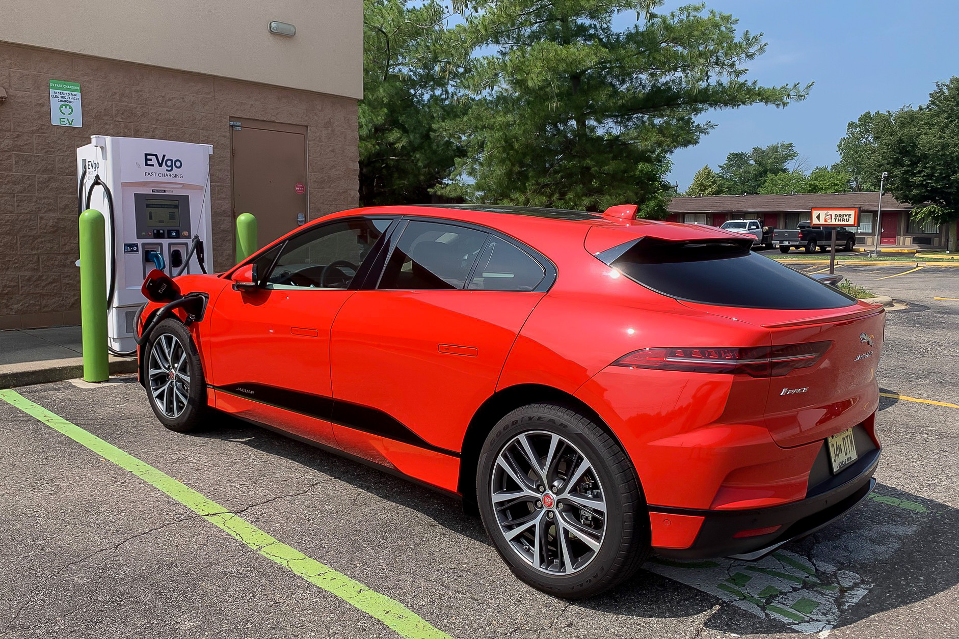 Can You Road-Trip in the Jaguar I-Pace?