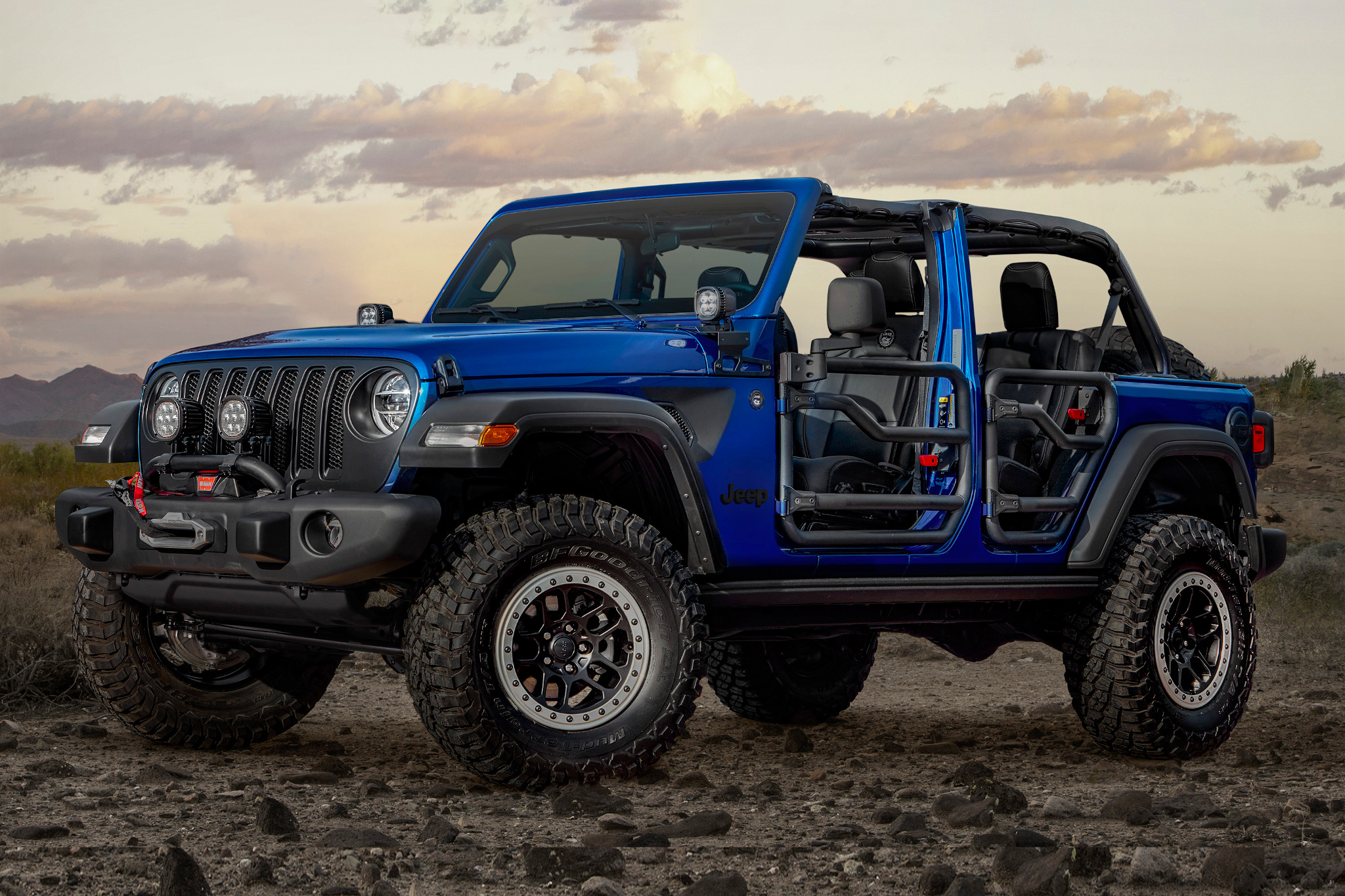 Jeep Wrangler JPP 20: Accessories Included
