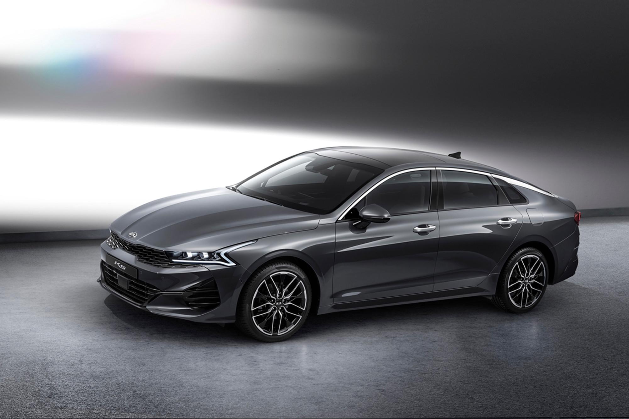 Future Kia Optima Optimized in New Korean-Market Fastback Sedan
