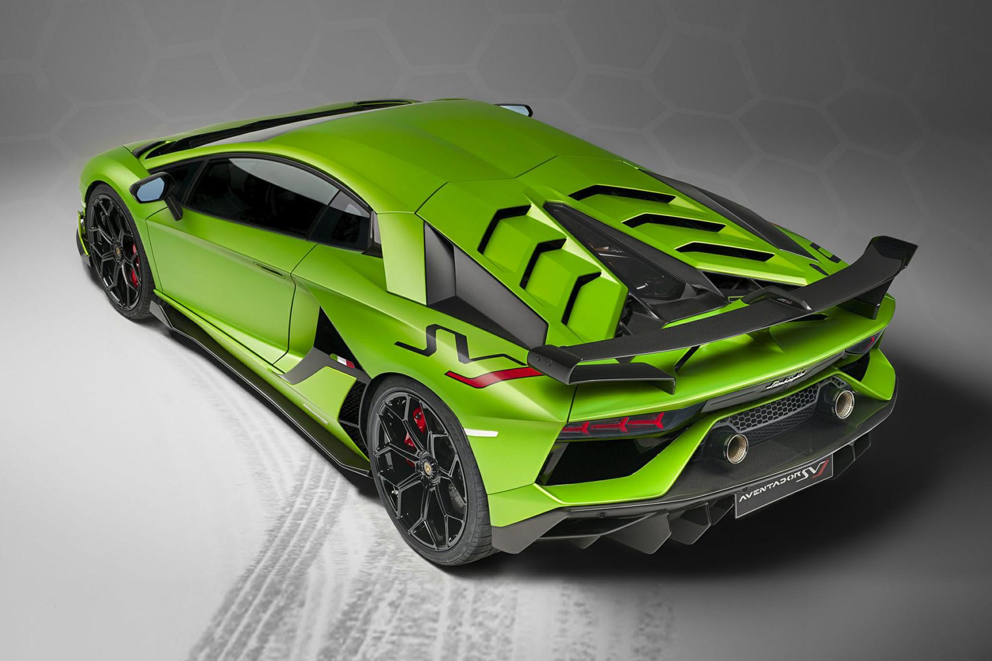 Redesign 2020 Lamborghini Aventador