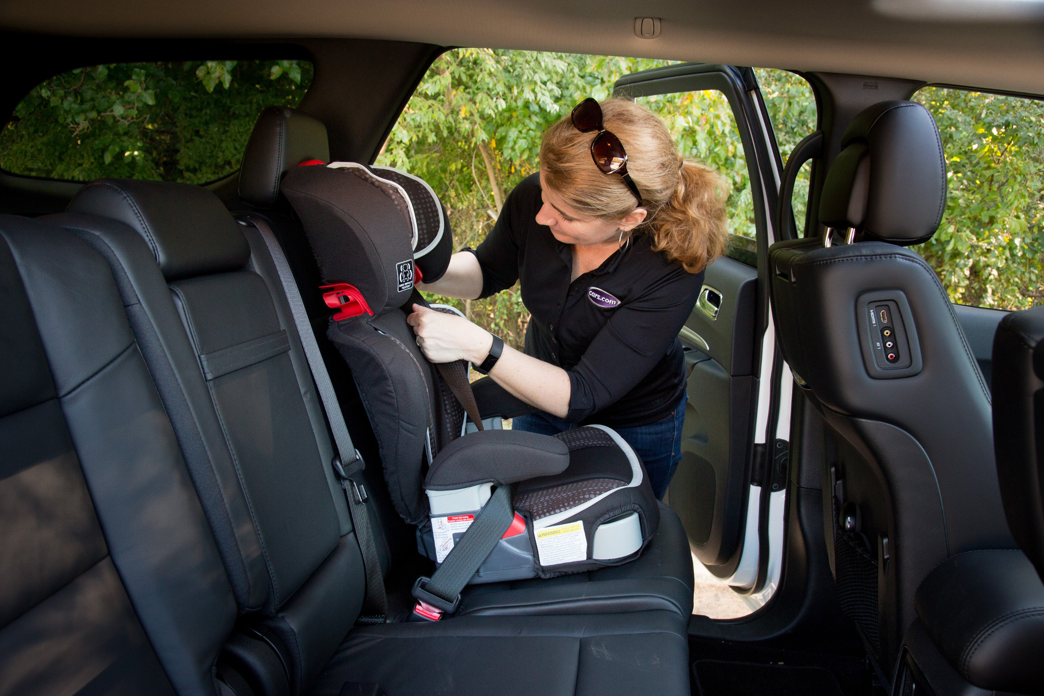 How Do Car Seats Fit in a 2020 Dodge Durango?