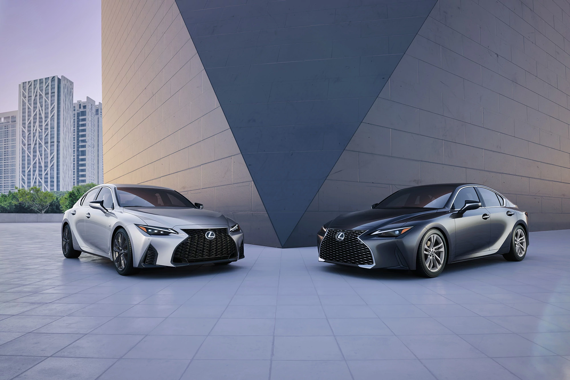 2021 lexus is 'i' is for improved 's' is for sort of