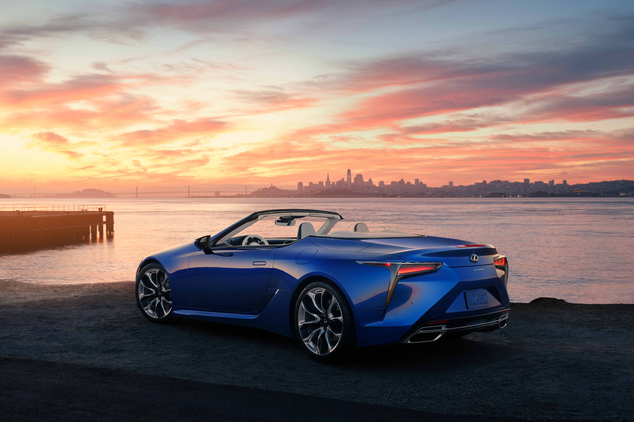 Lexus LC 500 Goes Topless for 2021