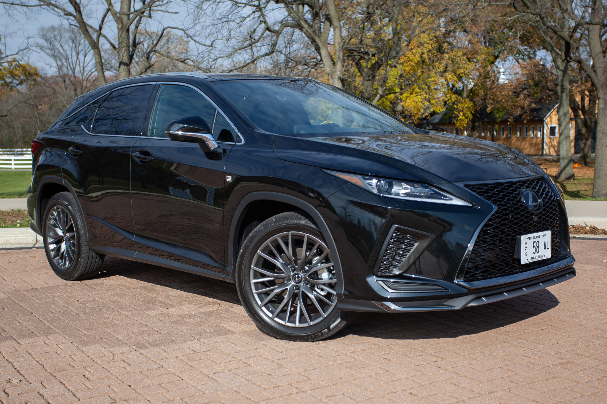 Lexus 2020 RX SUV Family Brings Home Safety Awards, Falls