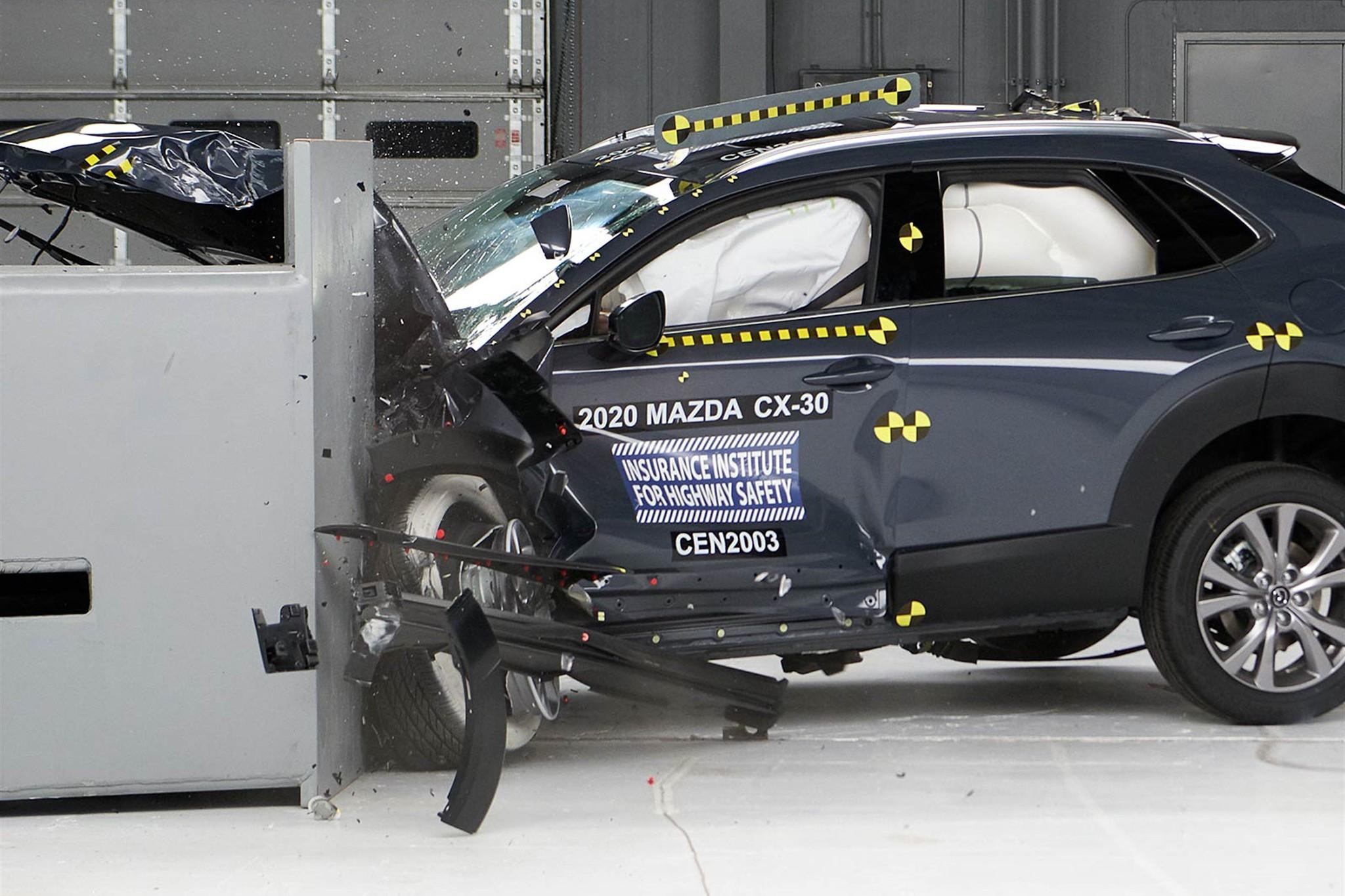 2020 Mazda CX-30 Earns Top Honors in Crash Testing