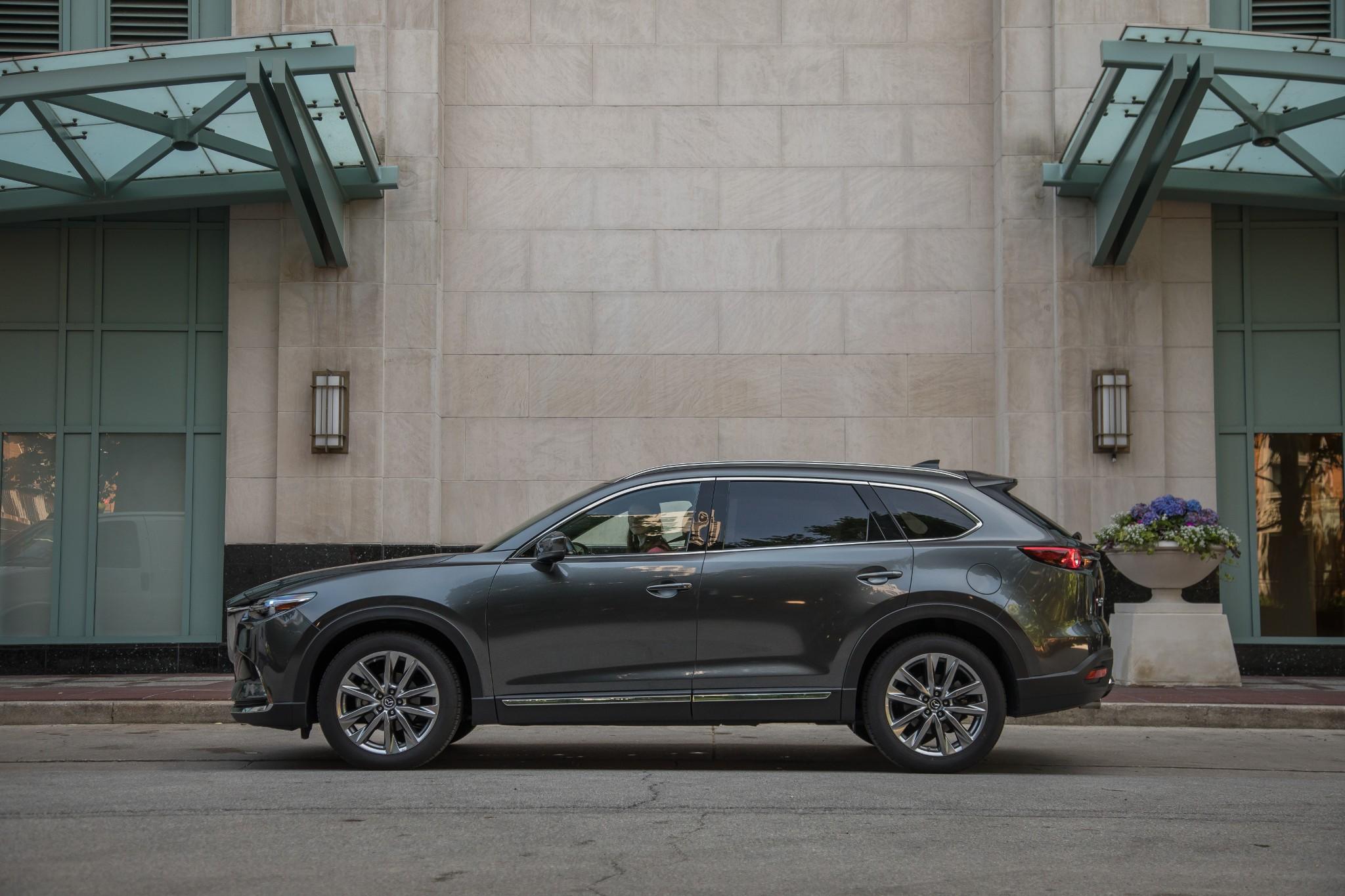 2020 Mazda CX-9 Improves Crash Safety Ratings With Headlight Upgrade