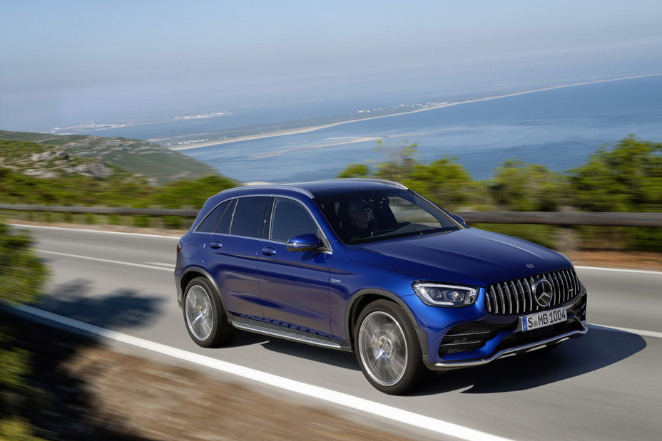 Powered-Up Mercedes-AMG GLC43 Coupe, SUV Join 2020 GLC Squad