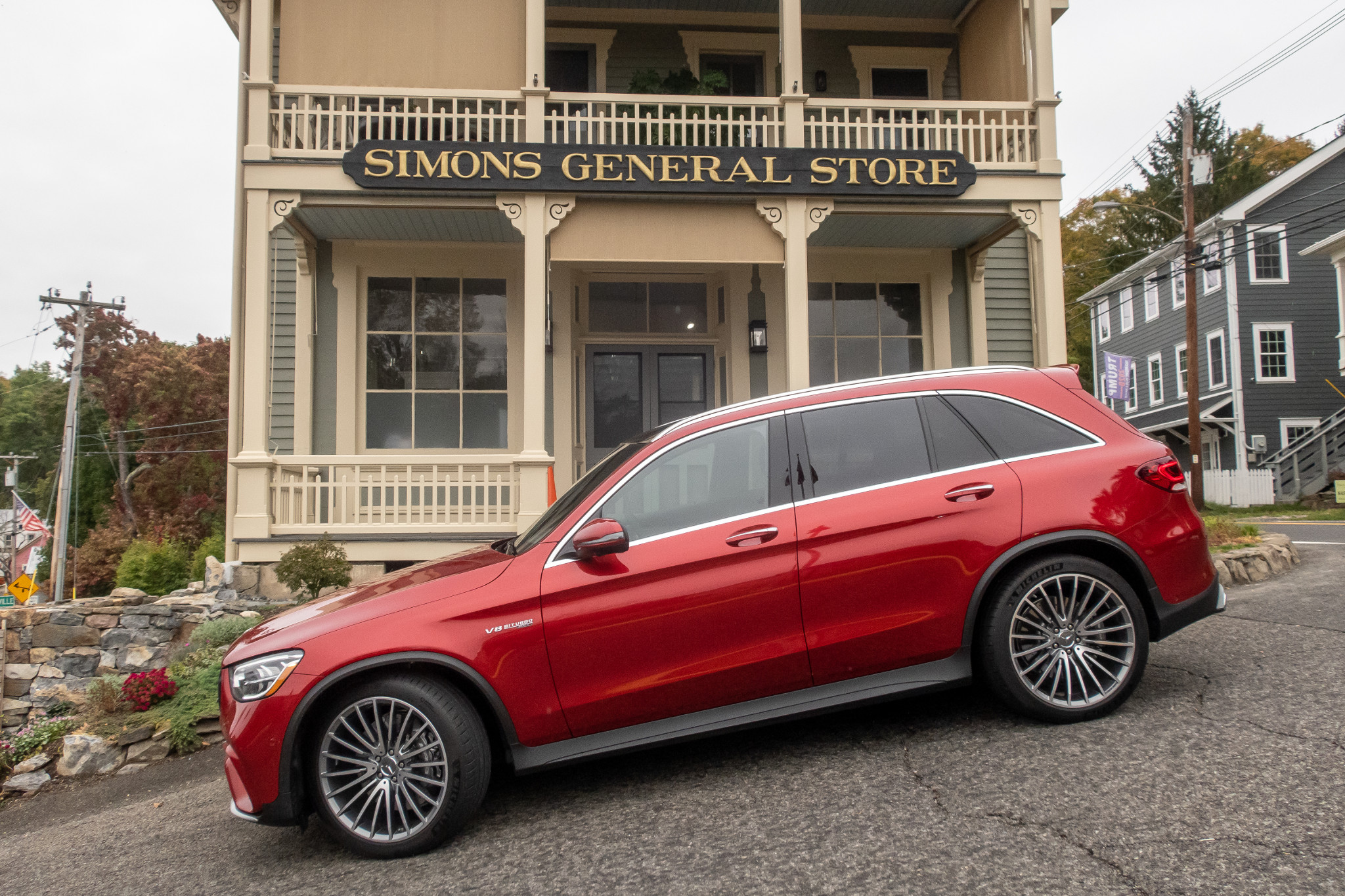2020 Mercedes-Benz GLC300, AMG GLC63 Review: Fast and Fancy Family Haulers