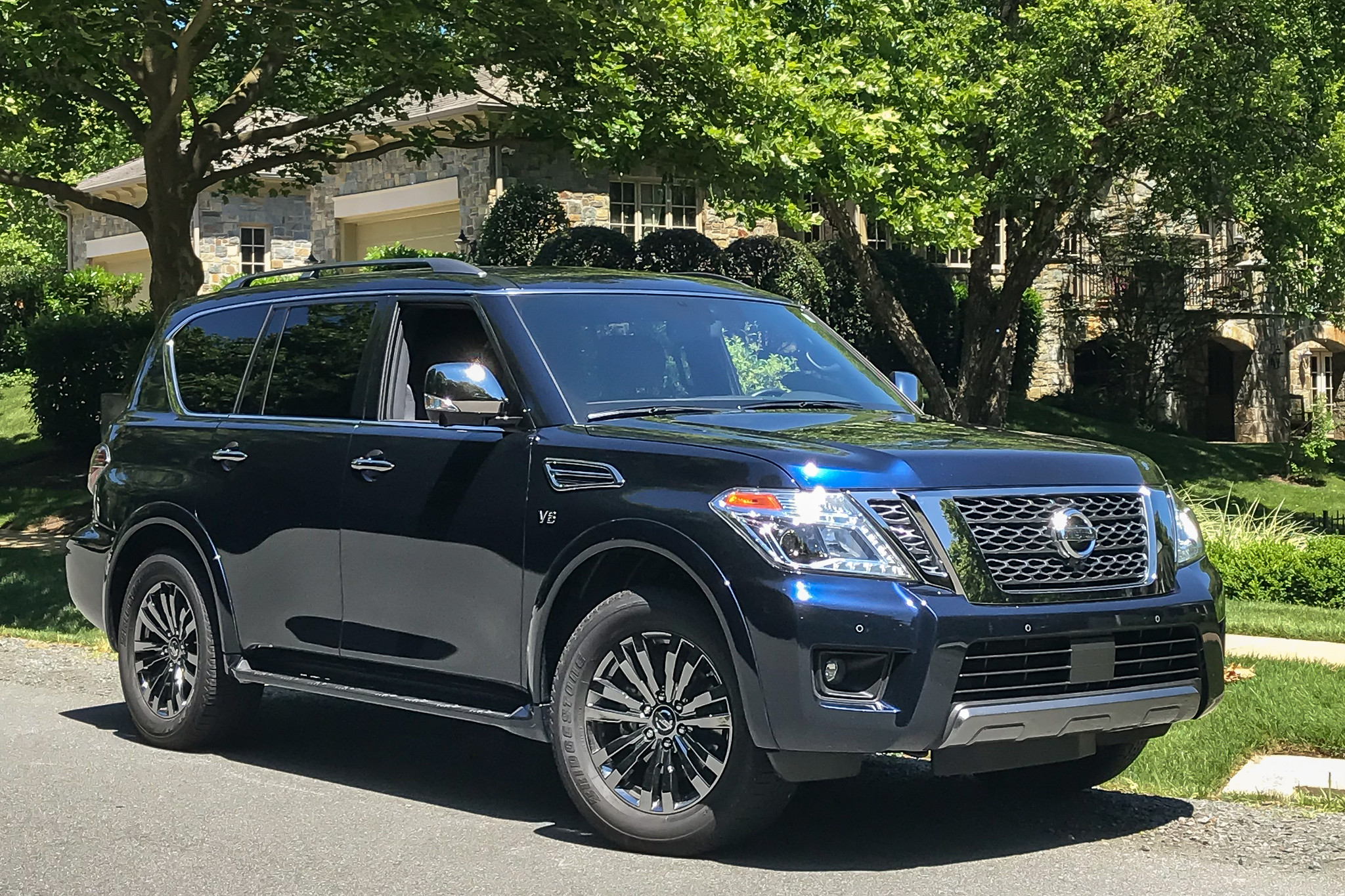 2019 Nissan Armada: Updates, Design, Specs >> 2019 Nissan Armada Review A Friendly Big Fella With Some