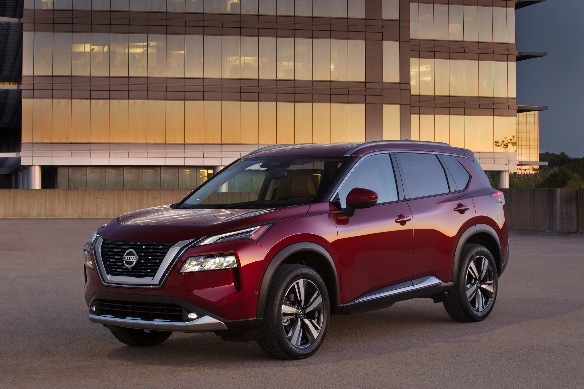 Redesigned Nissan Rogue Shows Up Tougher-Looking, Tech-Packed for 2021