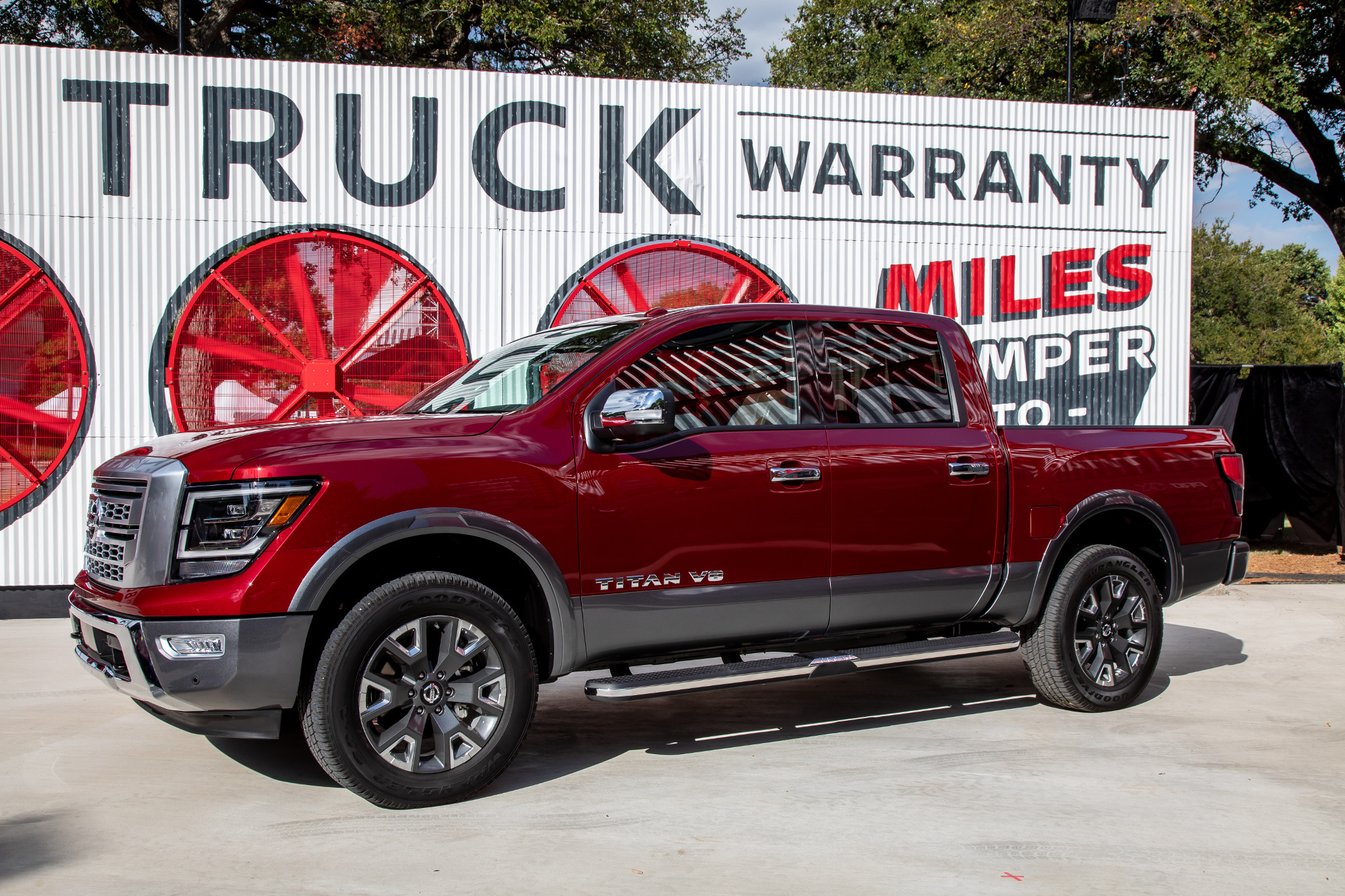 All the Pickup Truck News: 2020 Nissan Titan in Texas, Ford Takes Towing Title, Chevy and Ram Black Out and More