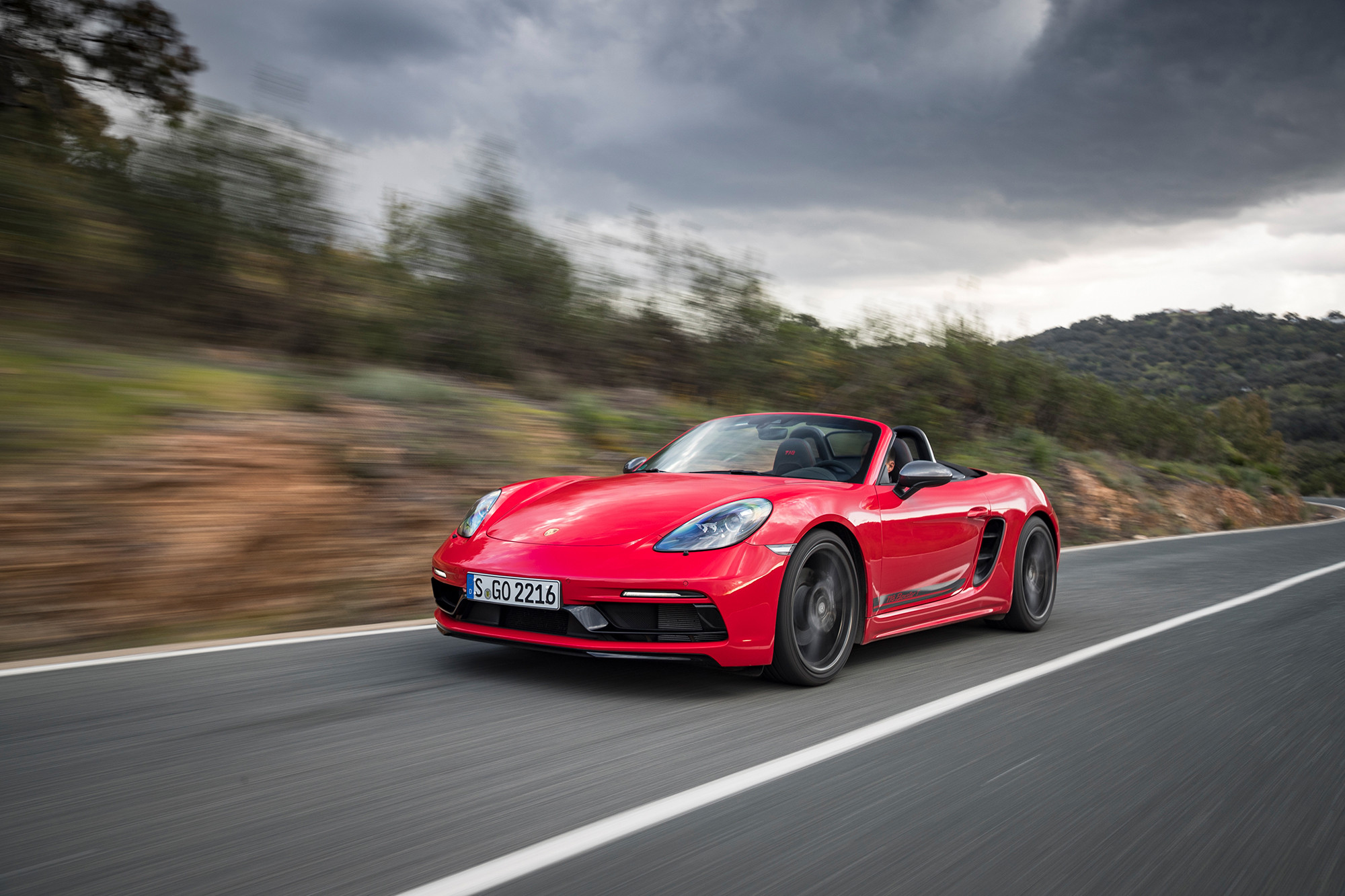 2020 Porsche 718 Boxster T, 718 Cayman T Peddle Performance as Standard