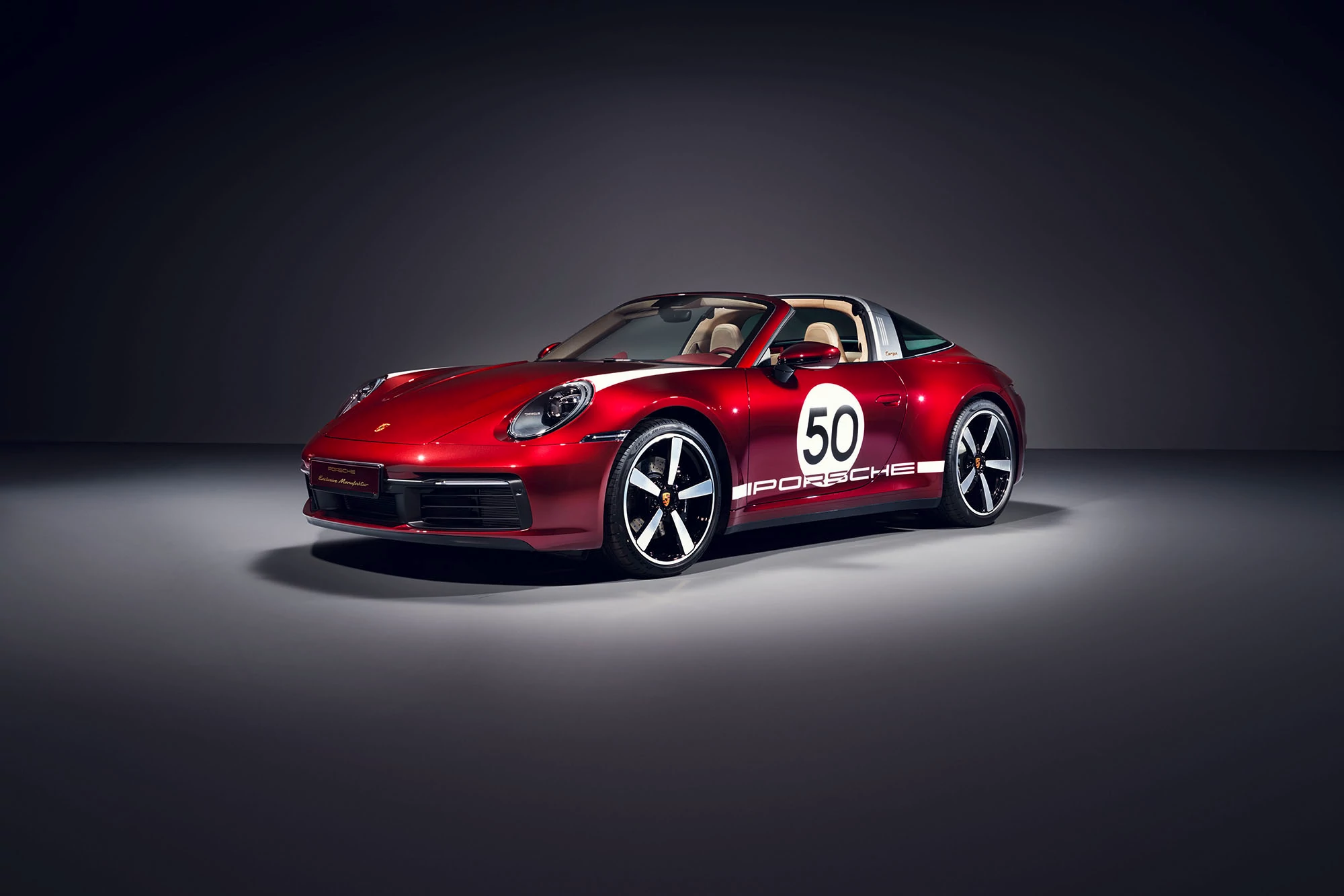 2021 Porsche 911 Targa Travels Back in Time With 4S Heritage Edition