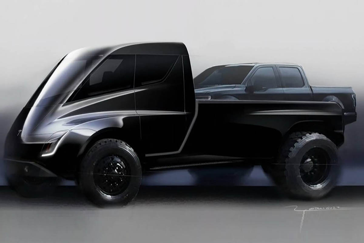 The Week in Tesla News: Tesla Truck Time Nears, Dyson Drops Out as Porsche Prices Down, Tesla Apes Amazon and More