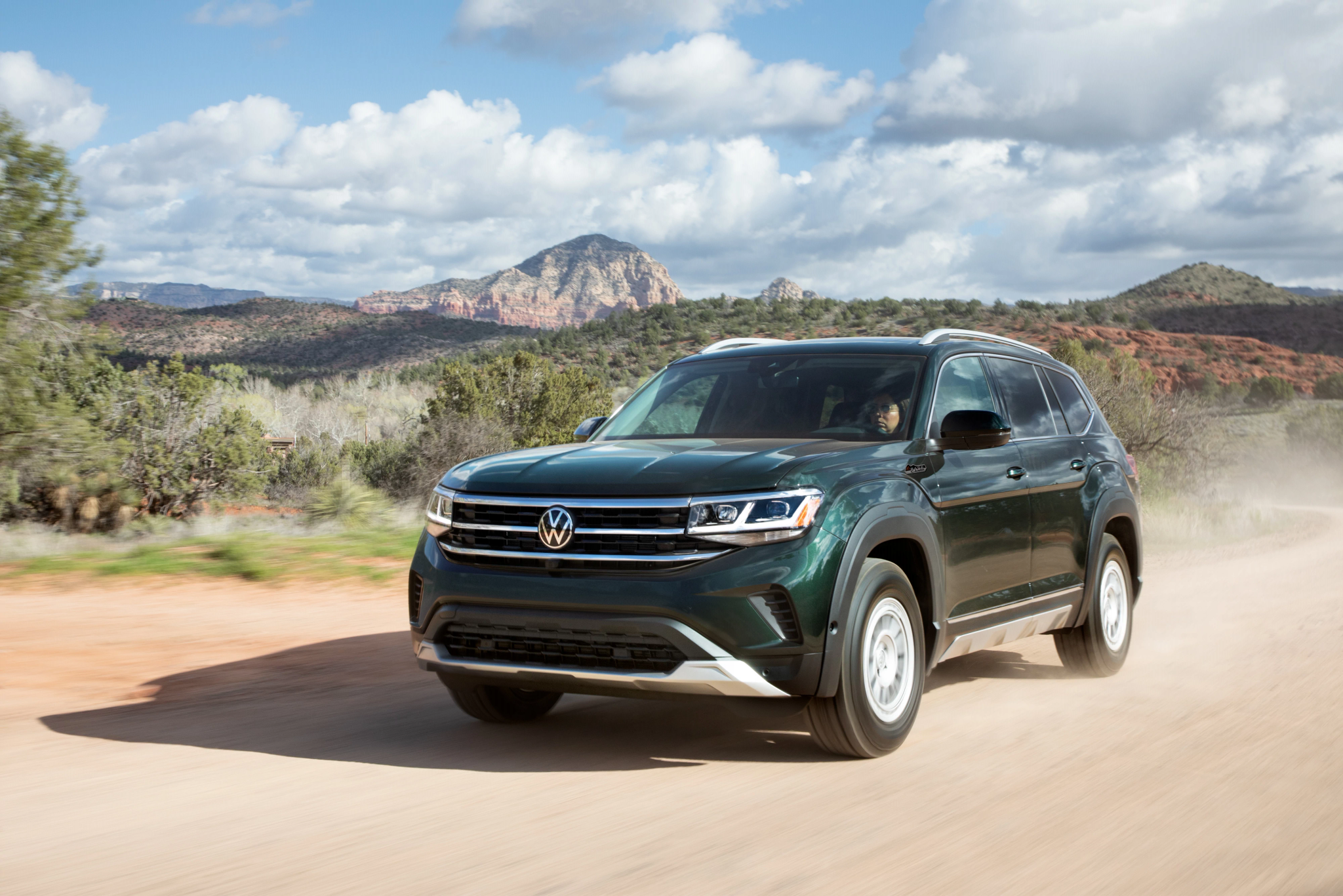 Go-Anywhere Volkswagen Atlas? Not Quite, But Basecamp Add-Ons Offer Off-Road Style