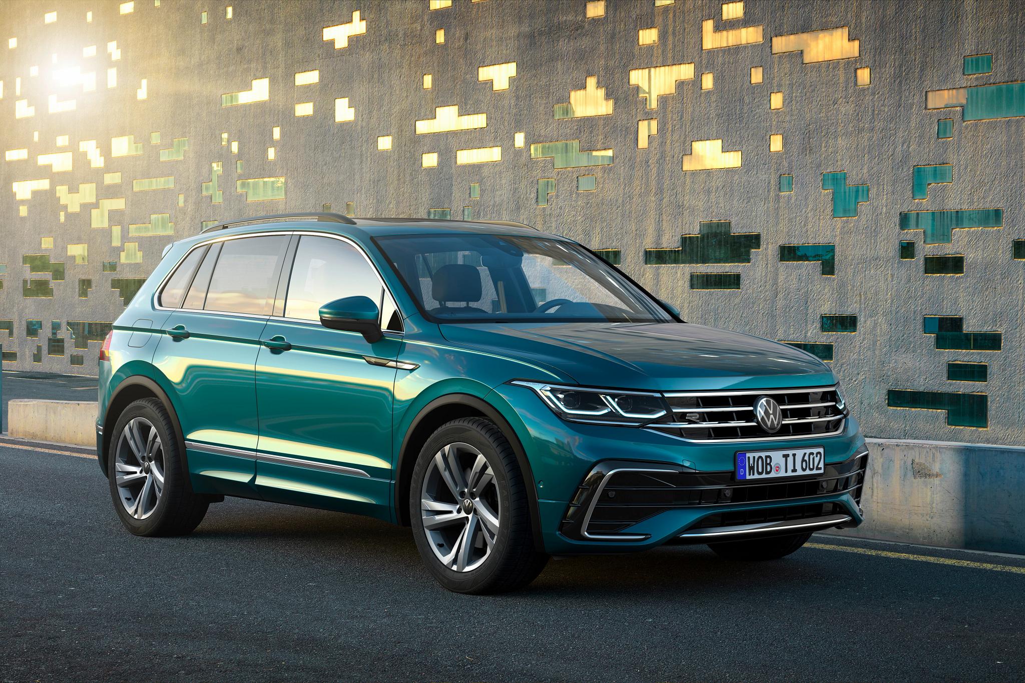 2022 Volkswagen Tiguan Refresh Updates Looks, Tech